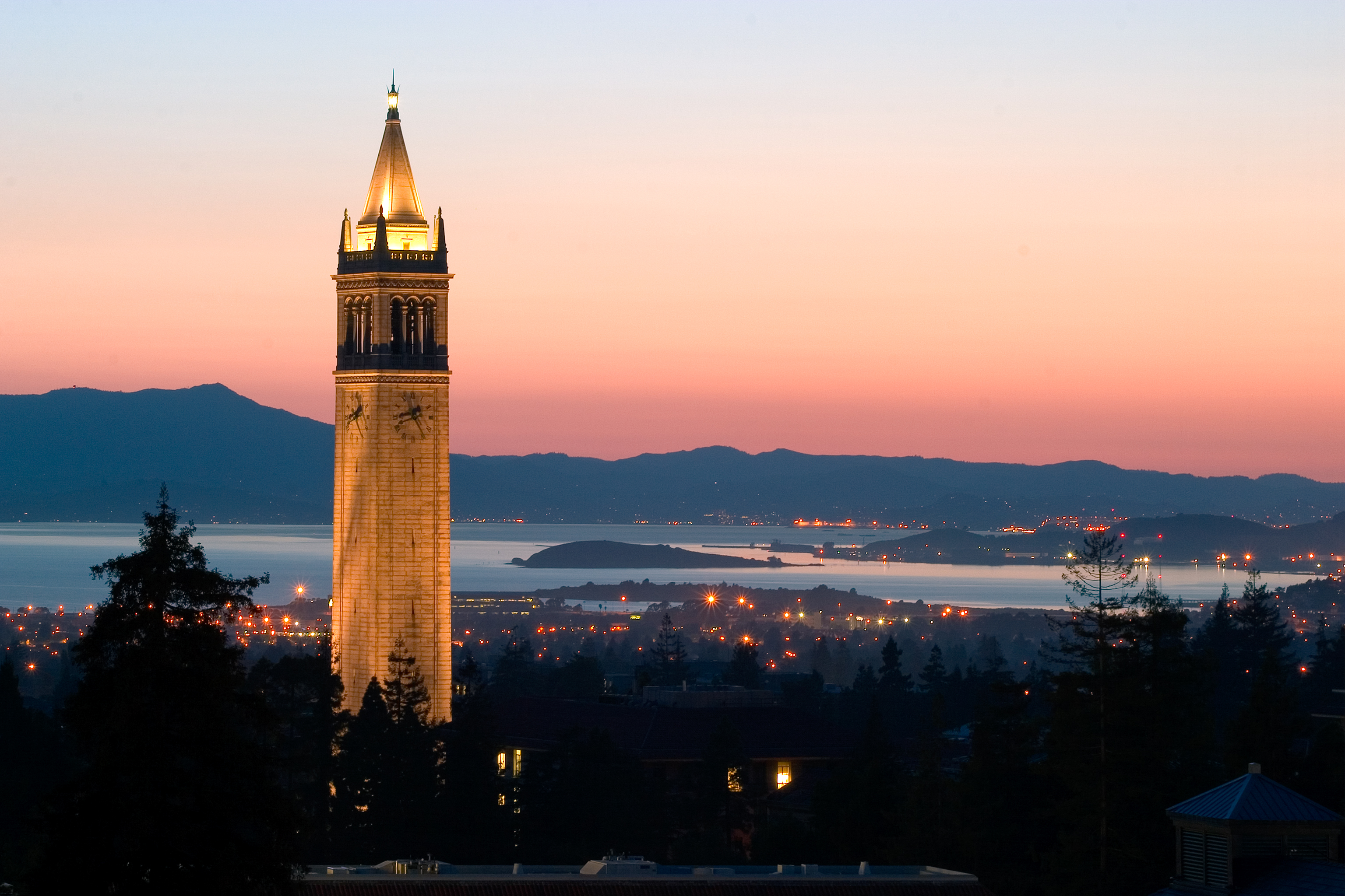 Berkeley University Sather Tower