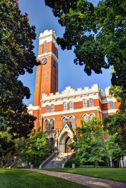 Campus of Vanderbilt Unversity in Nashville, Tennessee.