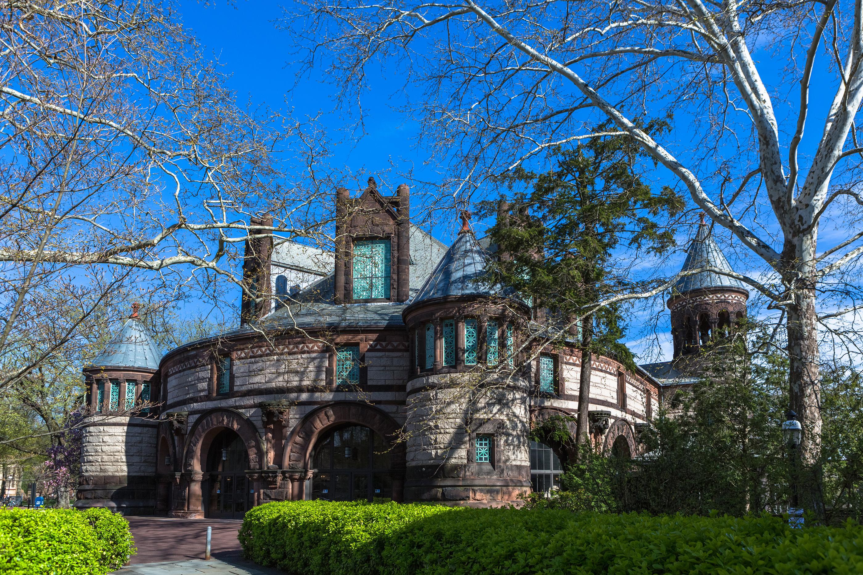 Alexander Hall in Princeton University.