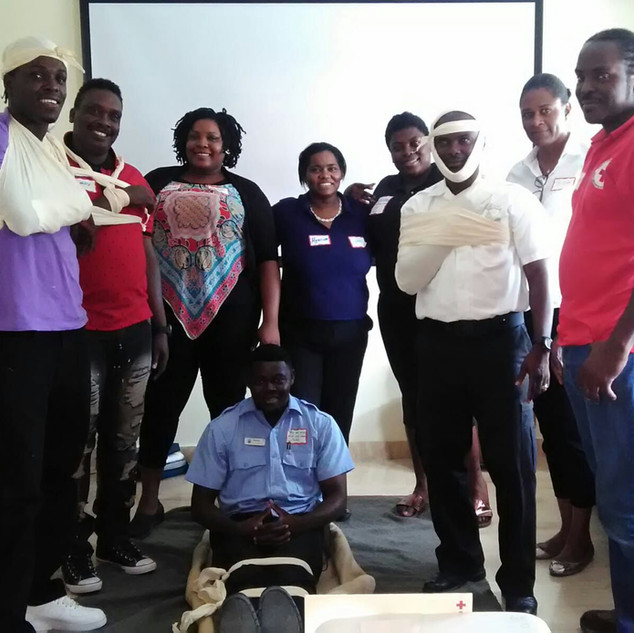 First Aid Training May 2018