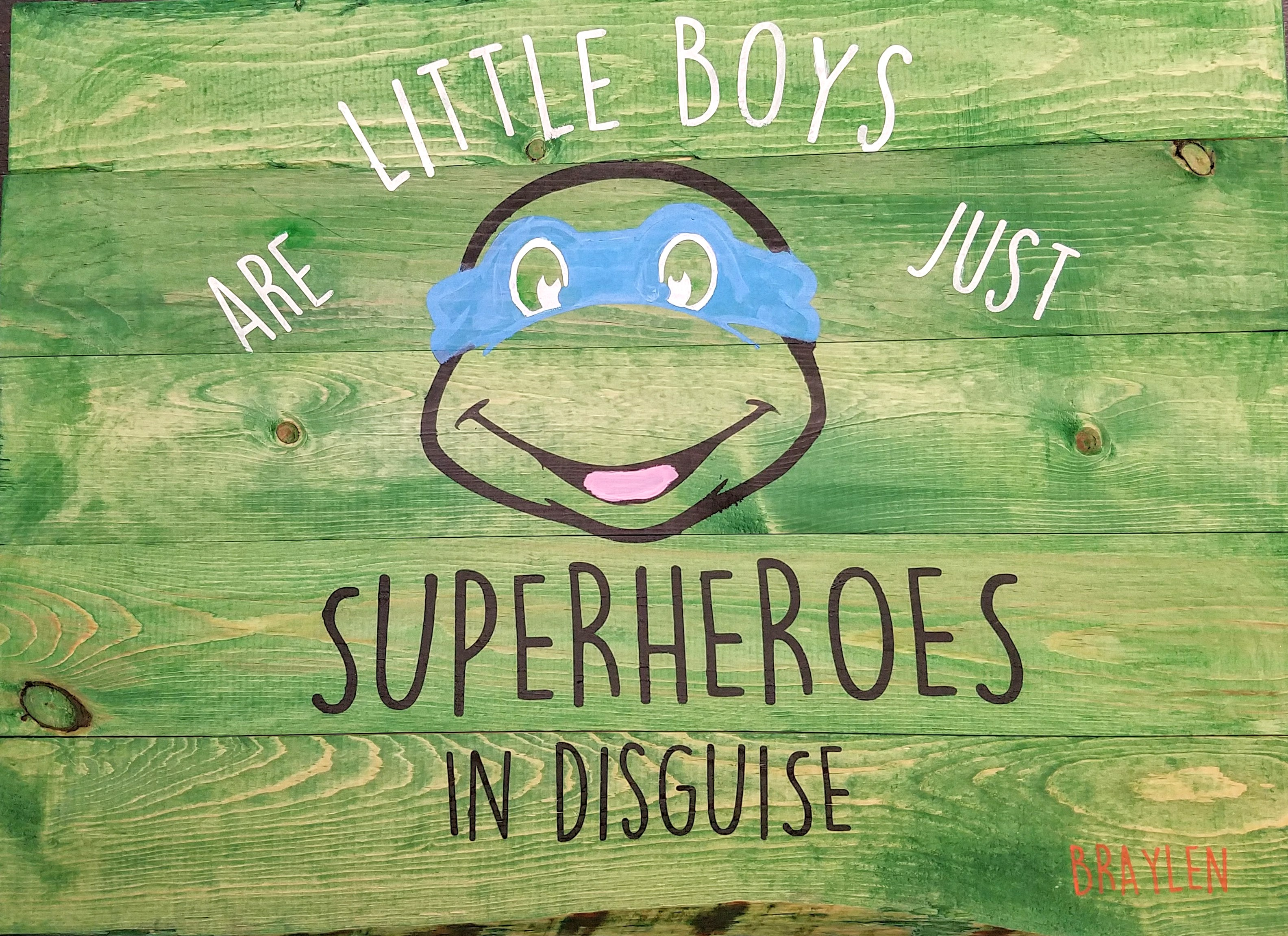Little Boys are just superheroes..