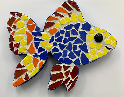 At-Home Fish Mosaic Kit