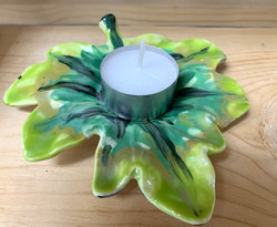 Leaf Tea Light
