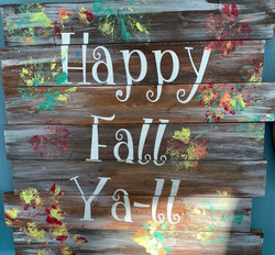 Happy Fall Ya-ll