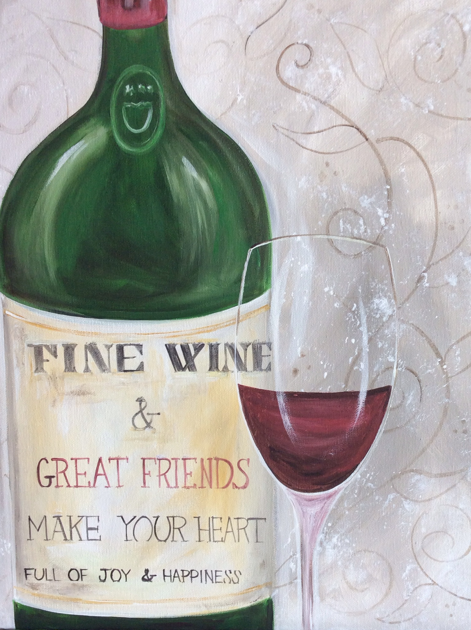 Fine Wine - 2 Hours