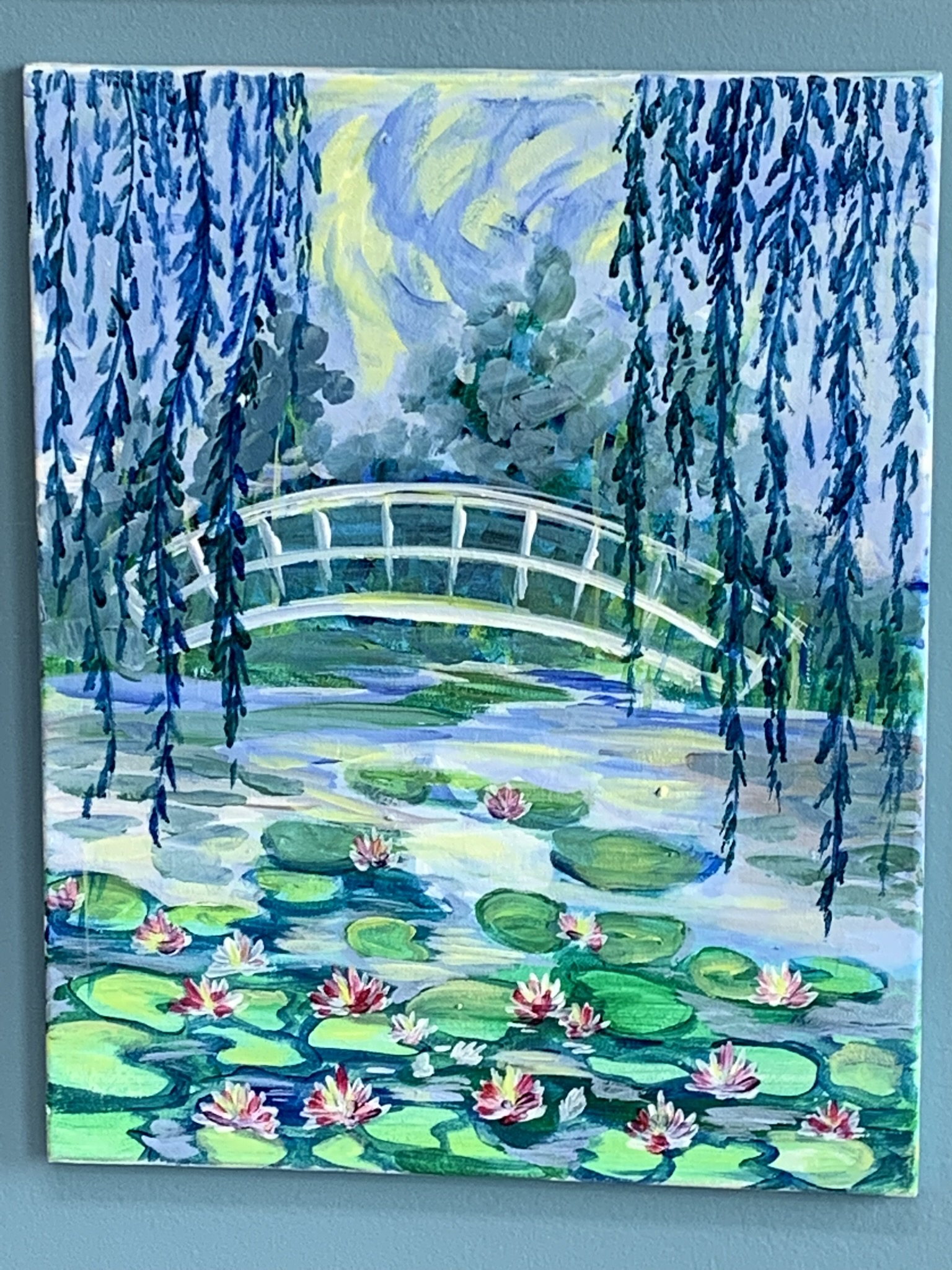 Bridge Over Water Lilies