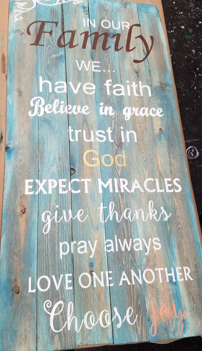 Trust in God expect Miracles
