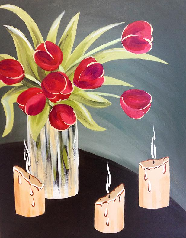 Candles & Tulips - 3 Hours
