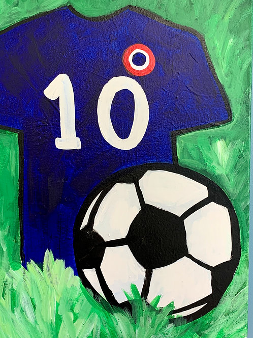 At-Home  Soccer Canvas Kit