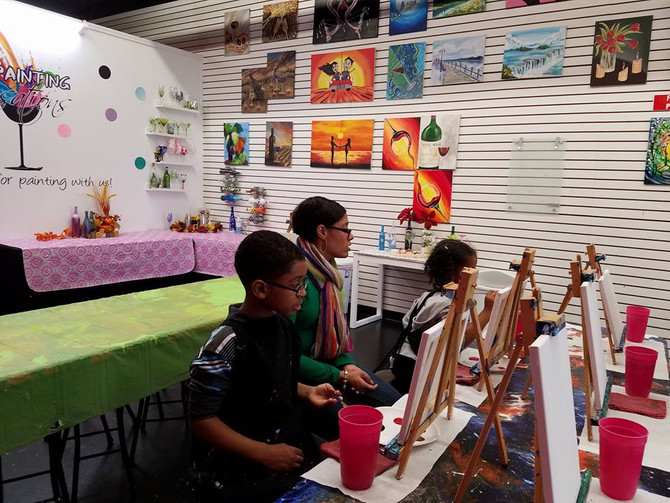 Kids Open Studio Painting Shelby Twp