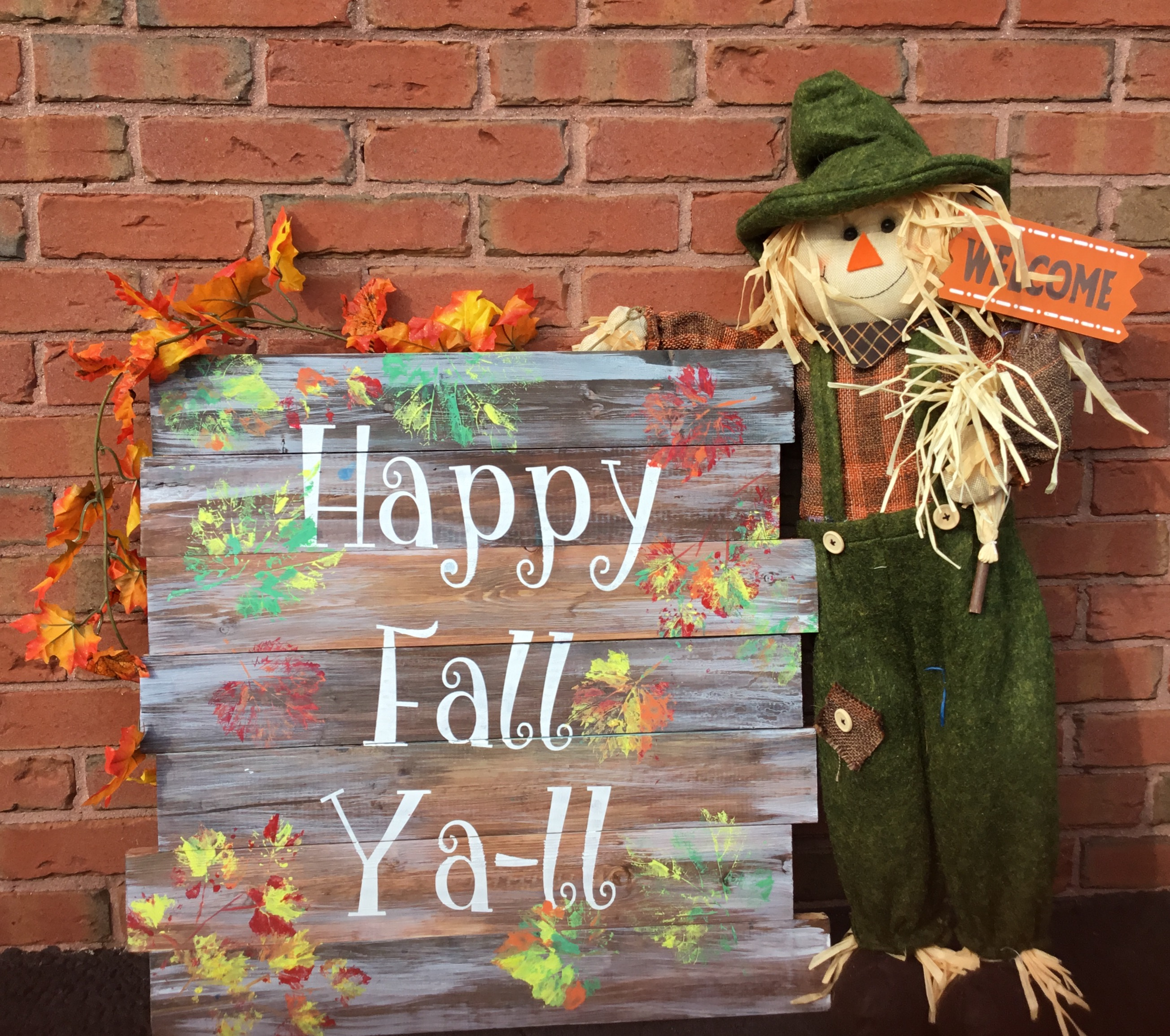 Happy Fall Ya-ll!