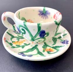 small tea cup & saucer