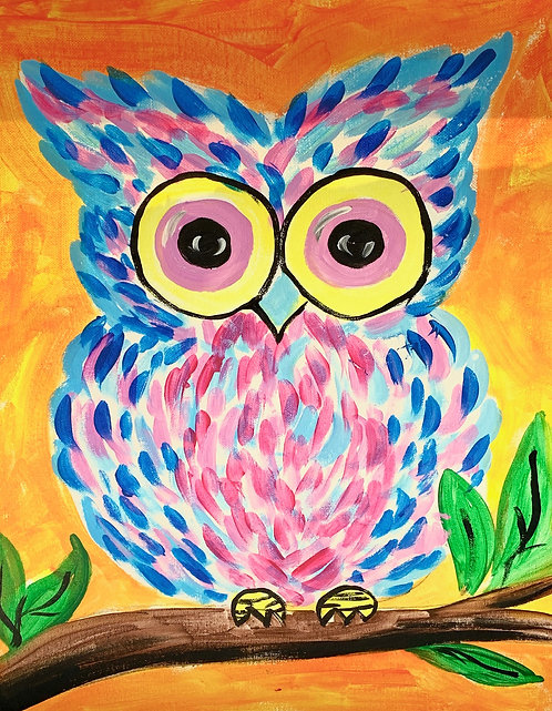 At-Home Owl Canvas Kit