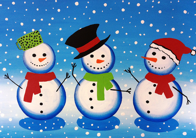 Host a Christmas Holiday Party at Painting Sensations