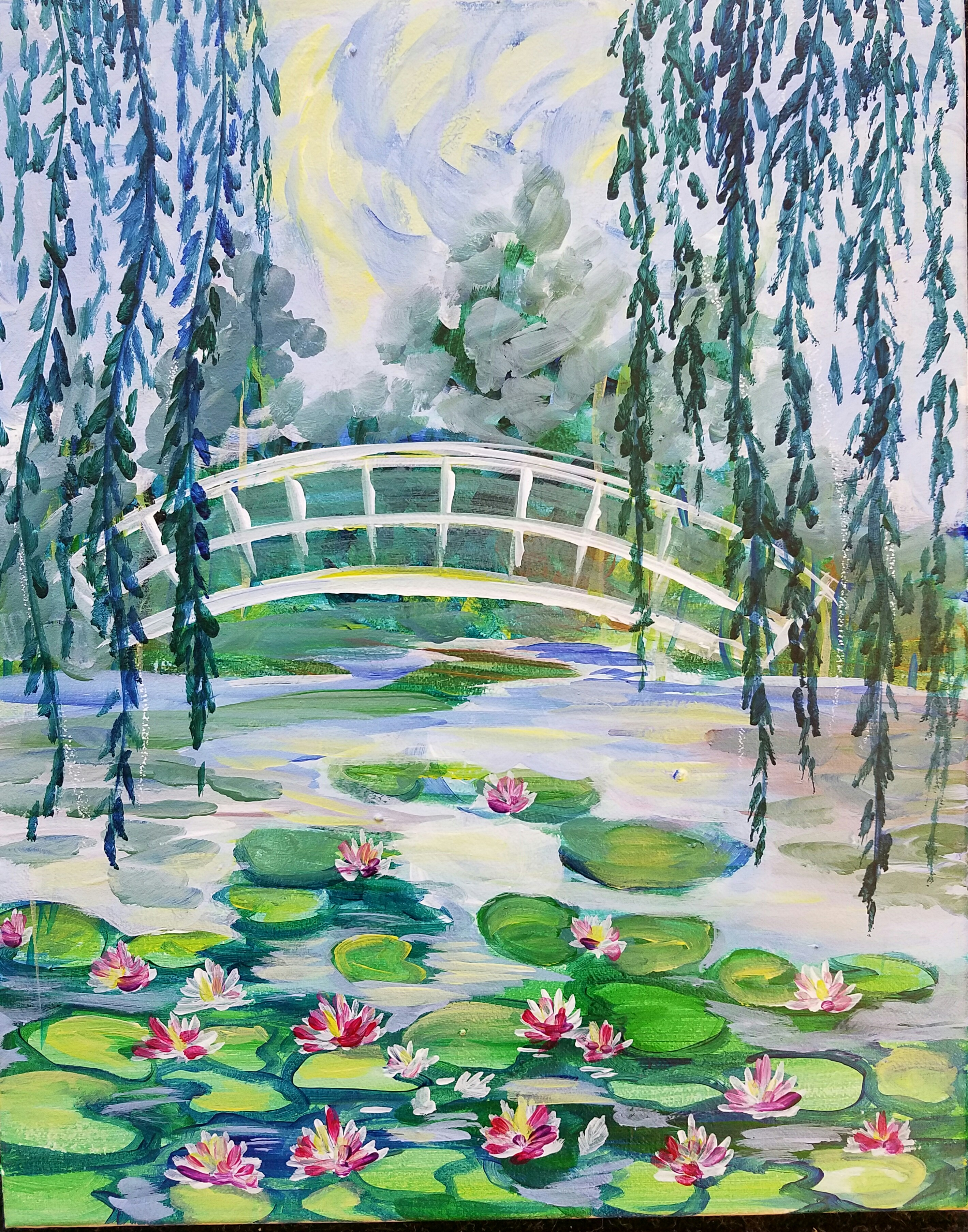 Monet The Water Lily Pond - 3 Hours