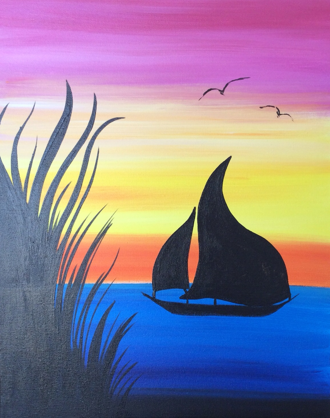 Sailboat on Sunset - 2 Hours
