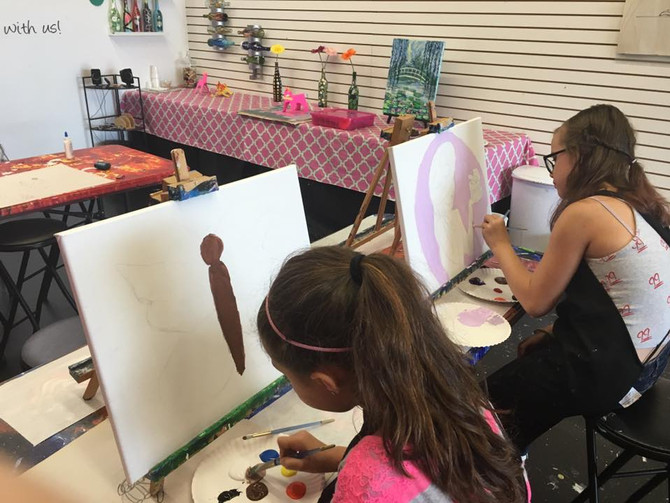 Kids Art Camp in Shelby Township, MI