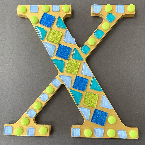 At-Home Initial Letter Mosaic Kit
