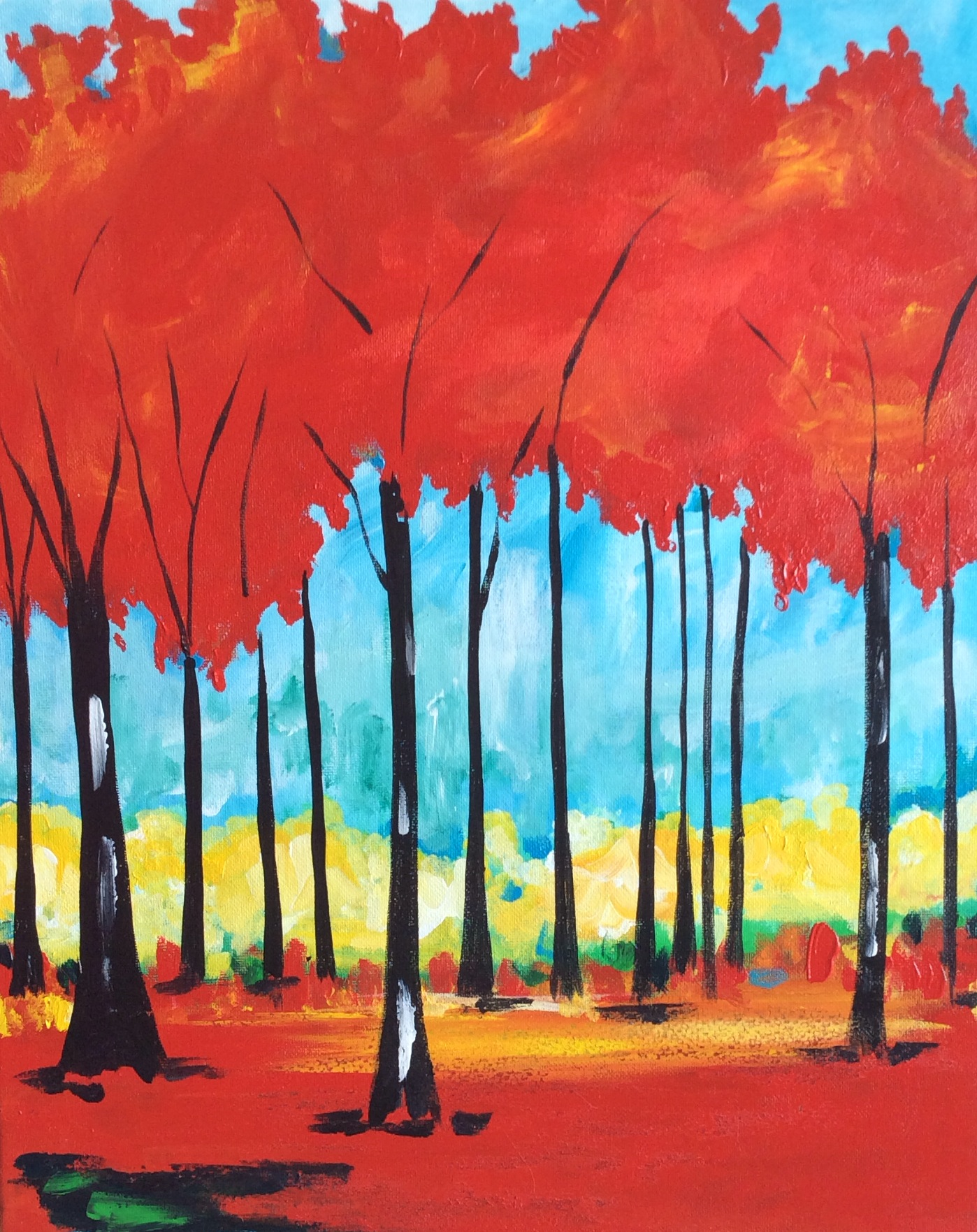 Red Tree Forest - 2 Hours