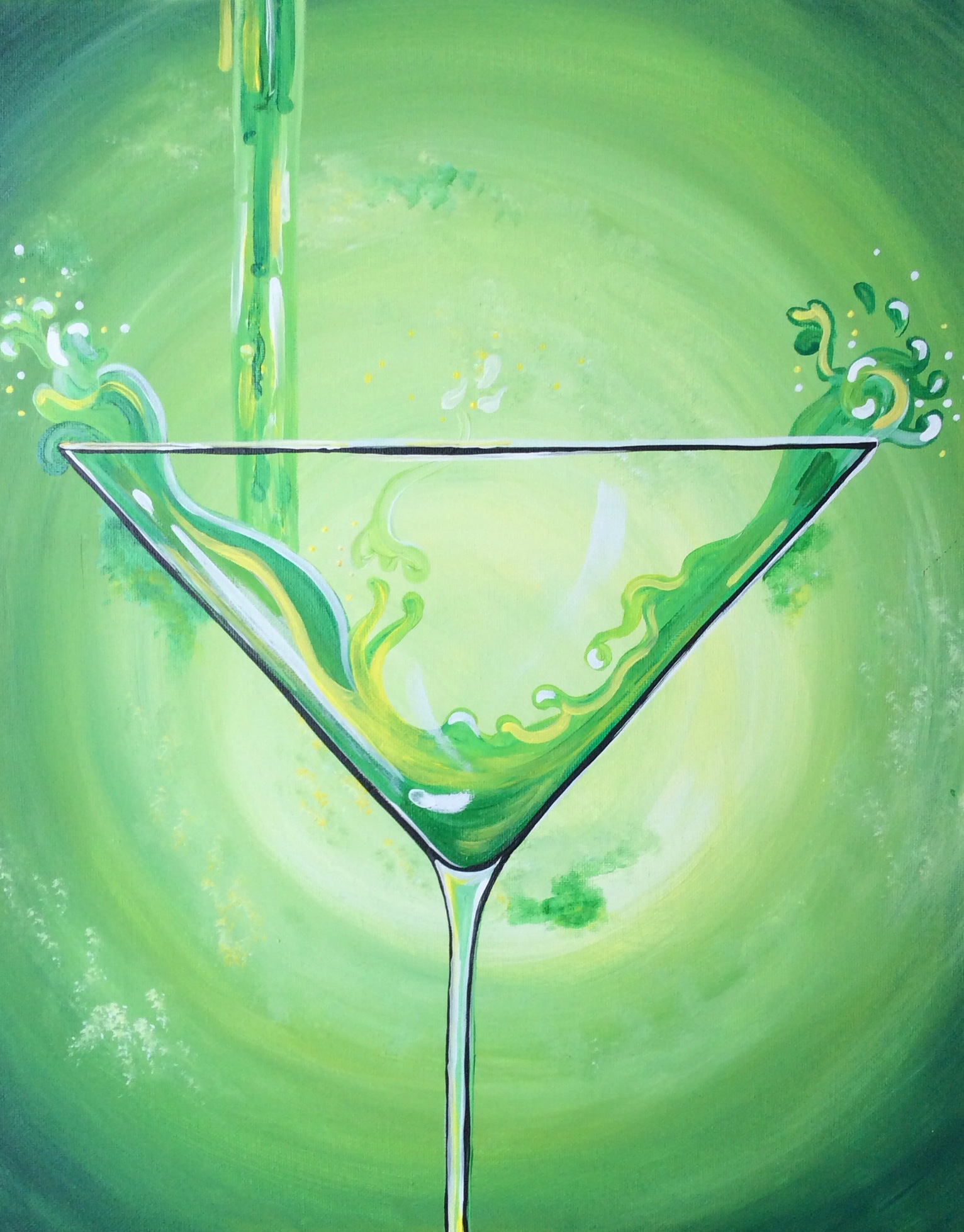 Green Martini - 2 Hours