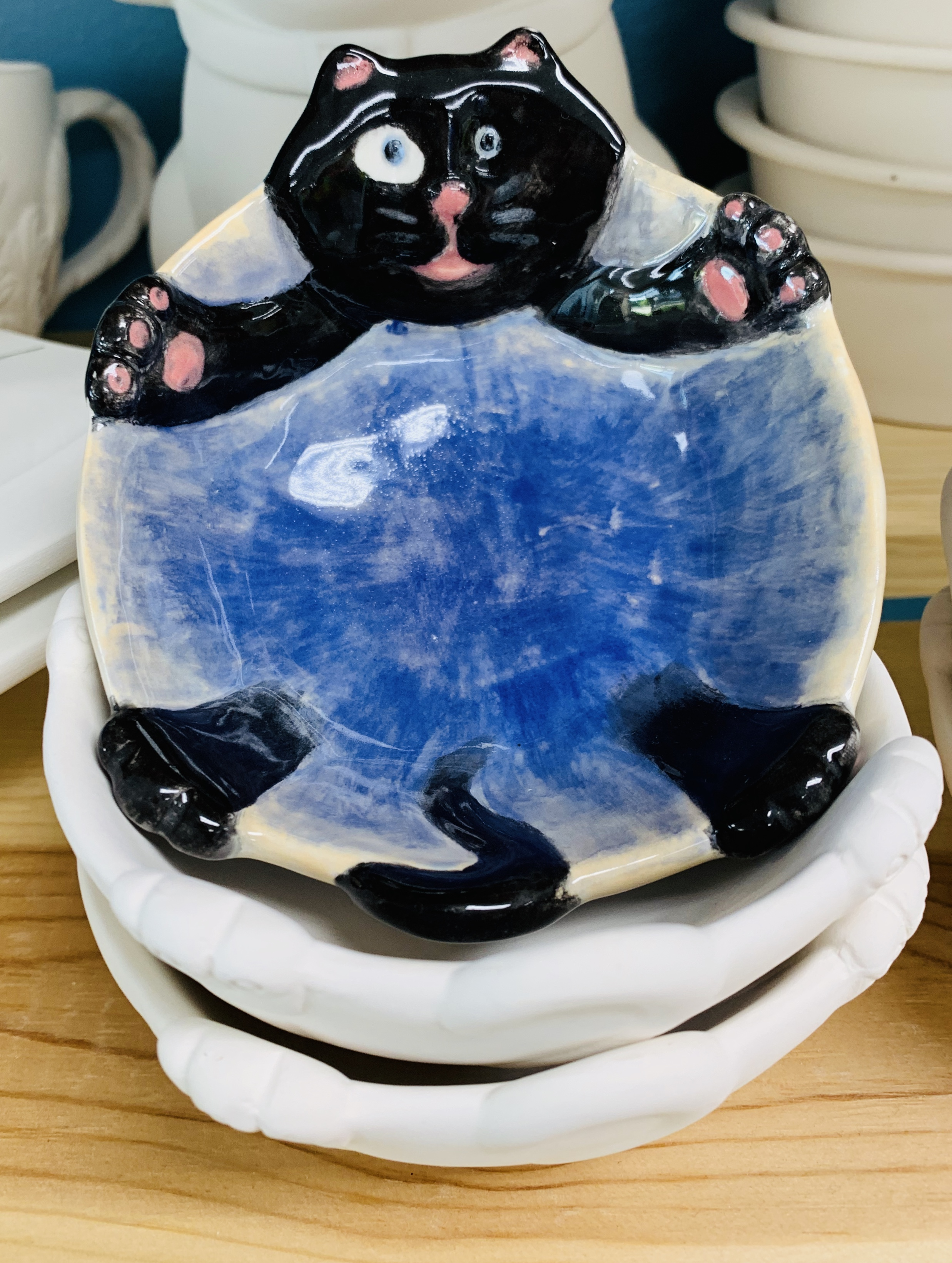 Small Kitty Dish