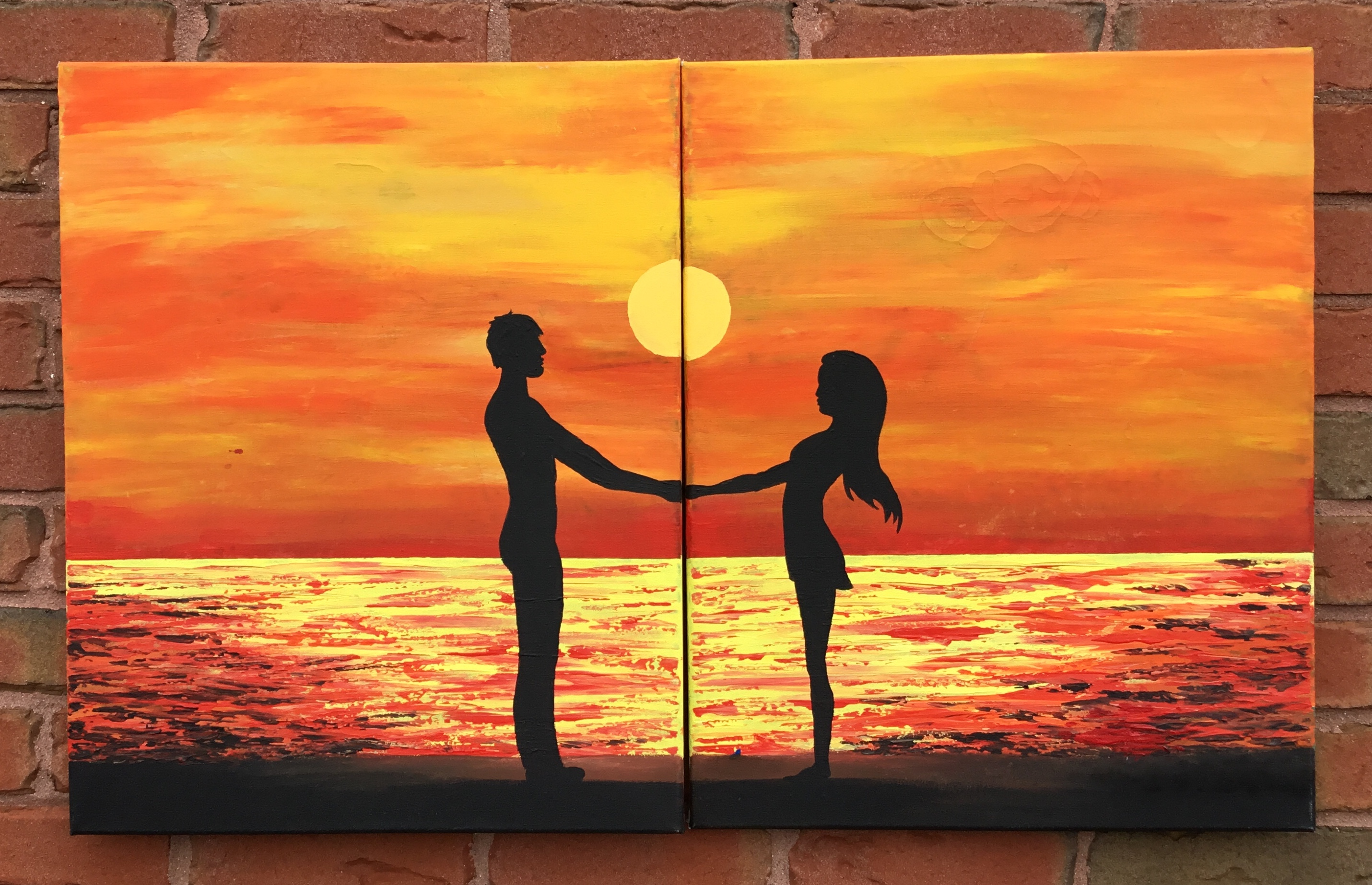 Couple on the sunset - 2hours