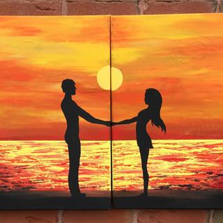 Couple on the sunset.jpg