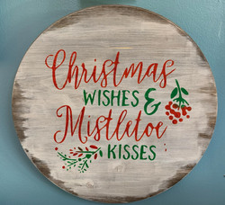 Christmas Kisses & Mistletoe