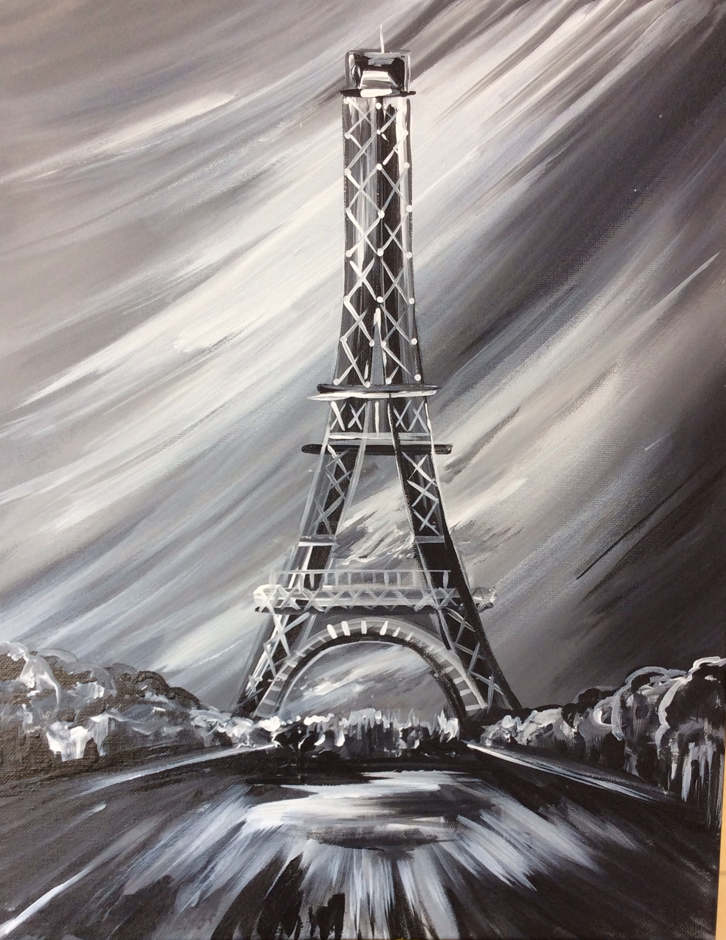 Eiffel Tower at Night - 2 Hours