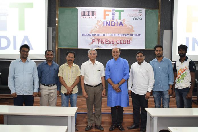 Fitness Club IIT Tirupati Inauguration