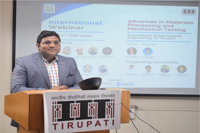 International Webinar IIT Tirupati