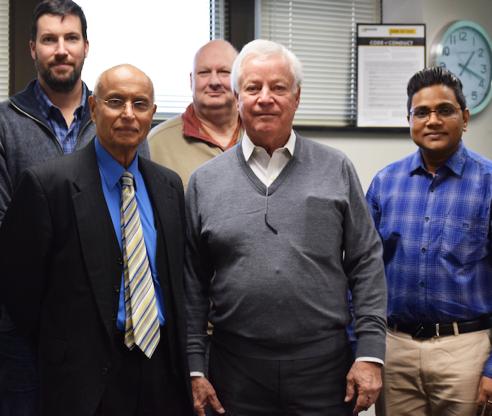 With Prof. Rohatgi UWM and Sloan Chicago