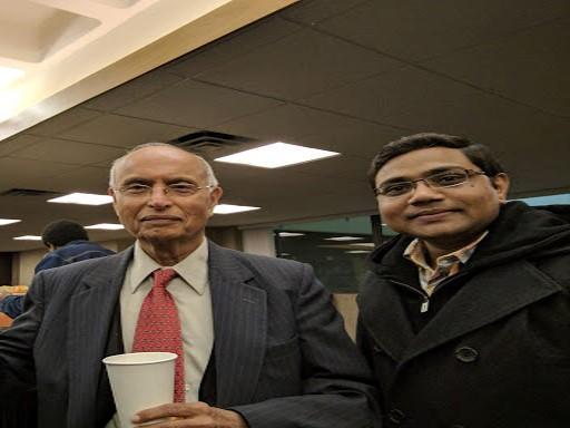 With Prof Rohatgi UWM USA