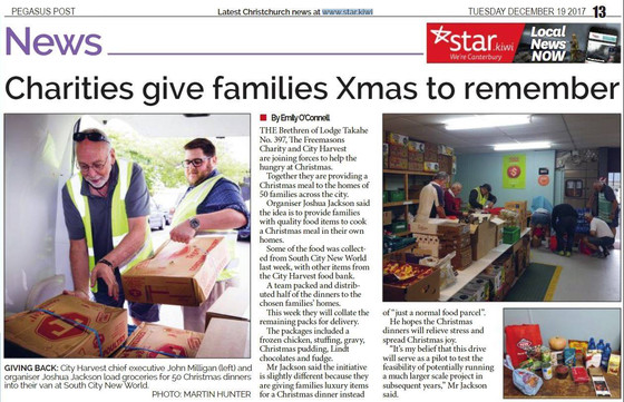 Charities give families Xmas to remember