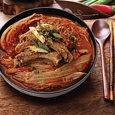 Kimchi & Pork Spare Rib Stew