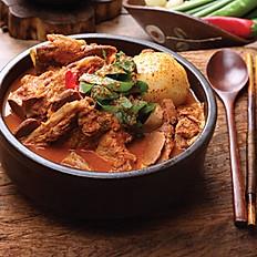 Earthen Bowl Spicy Pork Bone Soup