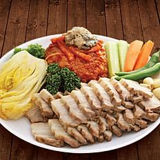 Bossam (Pork Wrap Dish)