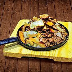 Stir-Fry on Griddle Pan