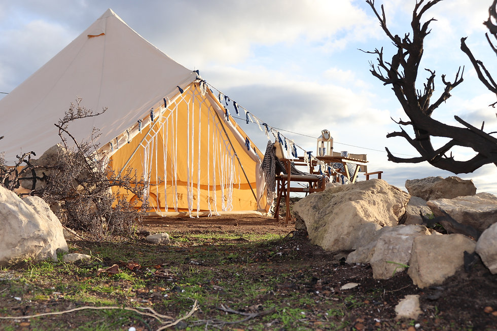 Glamping Tent at Vivonne Bay