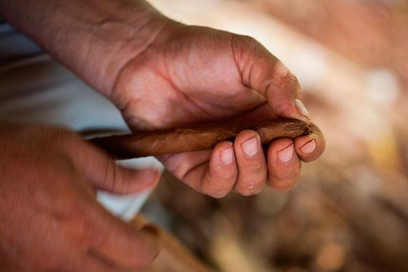 Rueda de un cigarro
