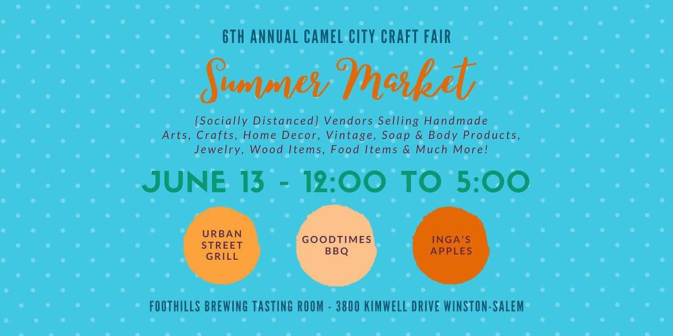 Camel City Craft Fair Summer Market