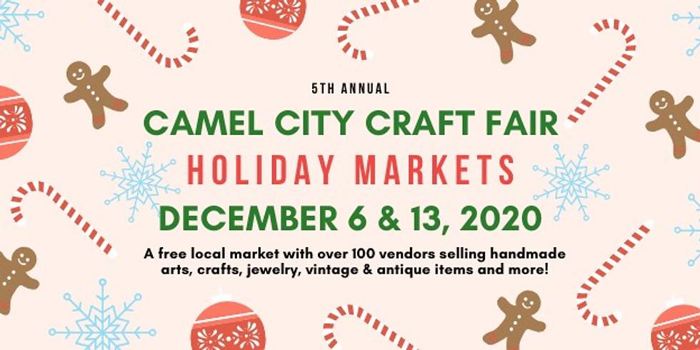 5th Annual Holiday Markets - Camel City Craft Fair