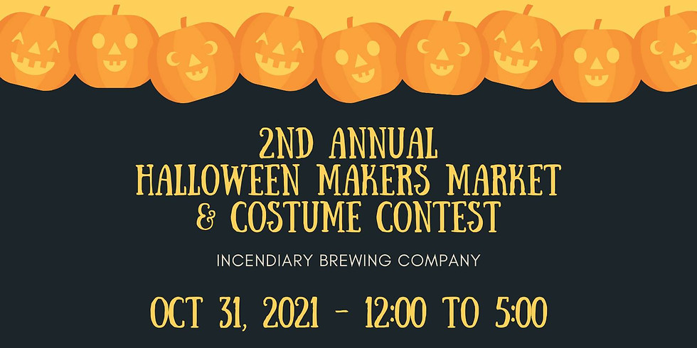 2nd Annual Halloween+Makers Market & Costume Contest