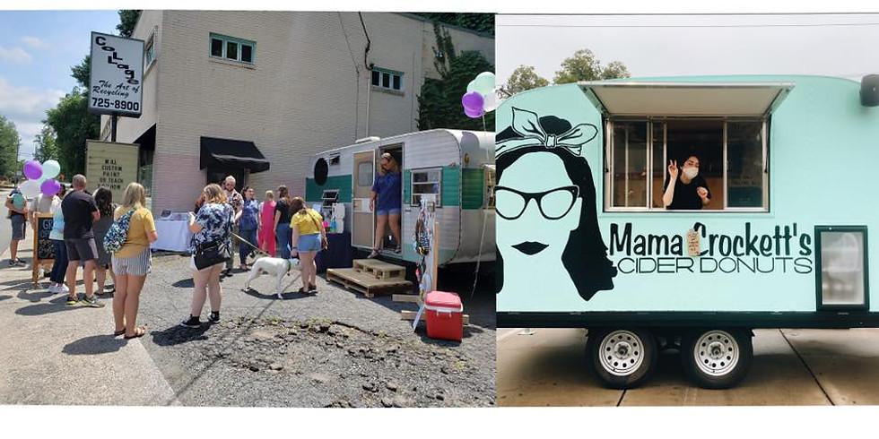 Manda's Creations Mobile Boutique + Mama Crockett's Cider Donuts Pop Up