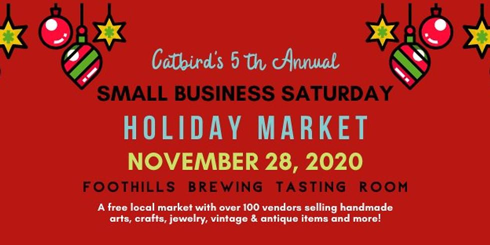 5th Annual Small Business Saturday Market