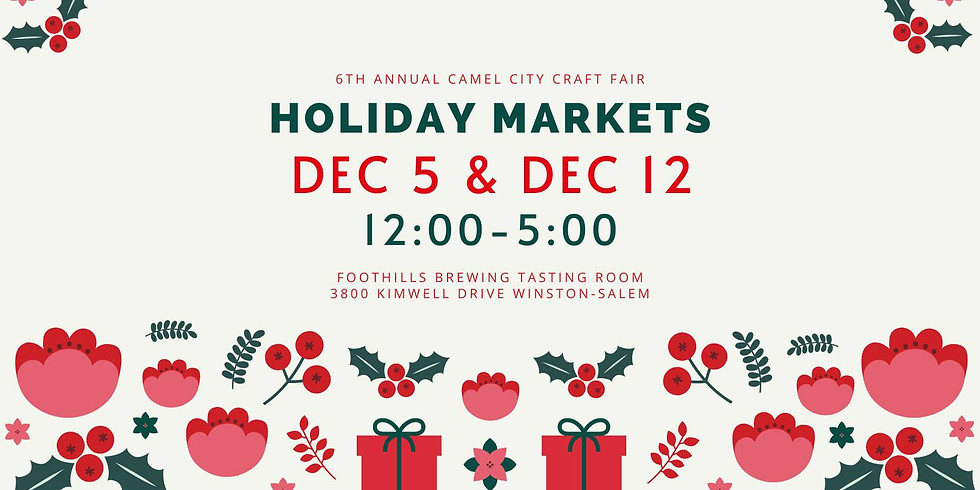 6th Annual Camel City Holiday Market