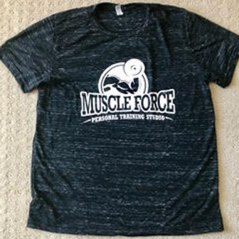 Muscle Force Dark Marble T-Shirt