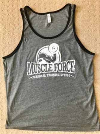 Muscle Force Deep Heather Tank