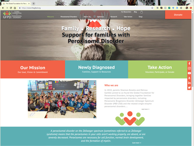 The GFPD Website Design