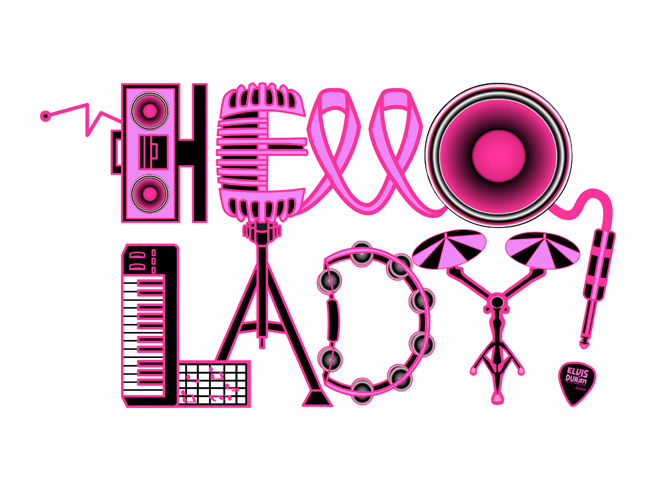 Hello Lady Logo